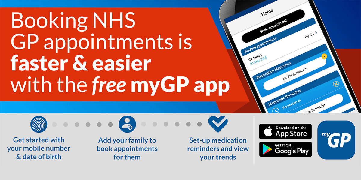 The myGP App is available